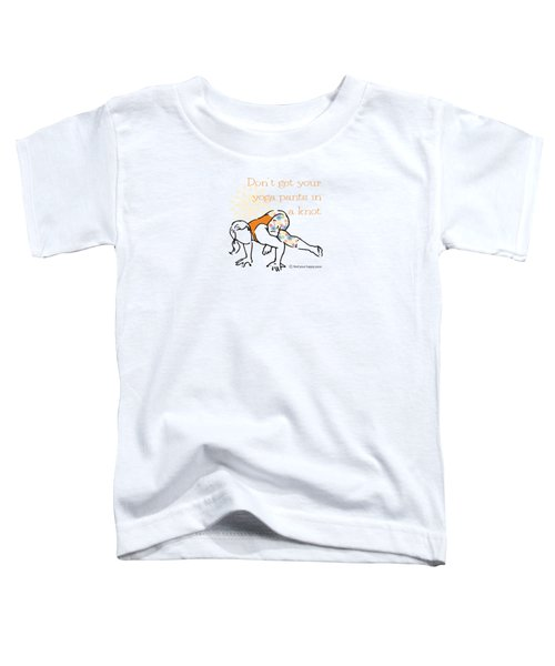 Knot Pose Toddler T-Shirt