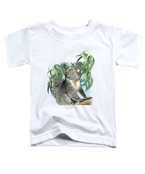 Koala Toddler T-Shirt by Vladimir Timokhanov