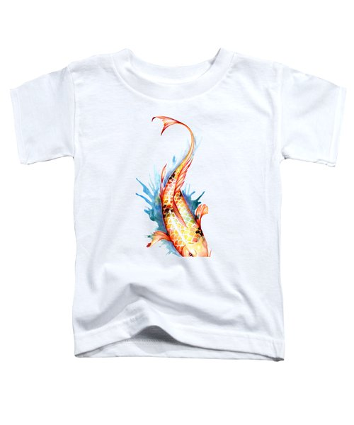 Koi Fish II Toddler T-Shirt by Sam Nagel