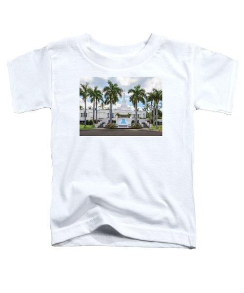 Kona Hawaii Temple-day Toddler T-Shirt