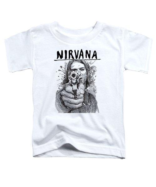 Kurt Cobain Toddler T-Shirt