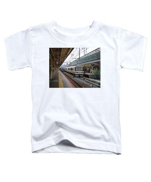 Kyoto To Osaka Train Station, Japan Toddler T-Shirt