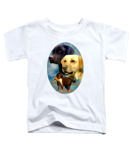 Labrador Retrievers Toddler T-Shirt