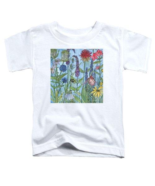 Lady Slipper In My Garden  Toddler T-Shirt