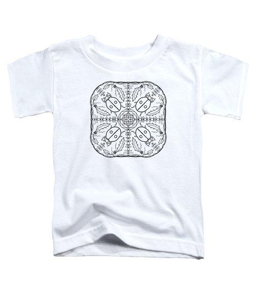 Ladybug Mandala Toddler T-Shirt