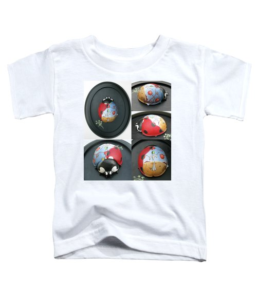 Ladybug On The Half Shell Toddler T-Shirt