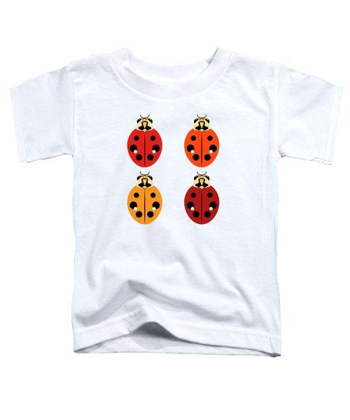 Ladybug Quartet Toddler T-Shirt