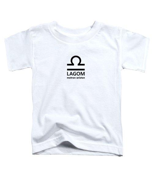 Lagom - Metron Ariston Toddler T-Shirt