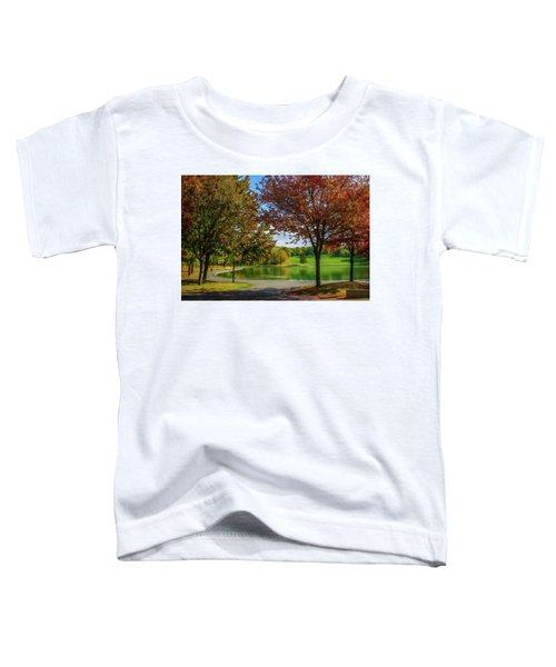 Lagoon Park In Montreal Toddler T-Shirt