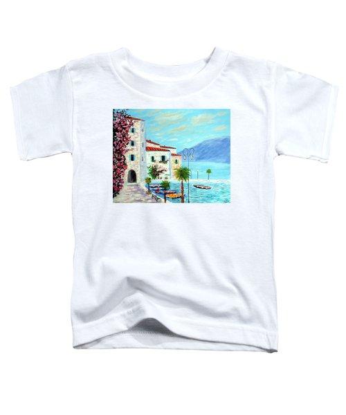 Lake Garda Bliss Toddler T-Shirt