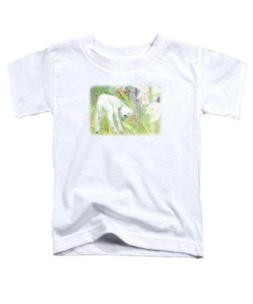 Lamb And Lilies Toddler T-Shirt