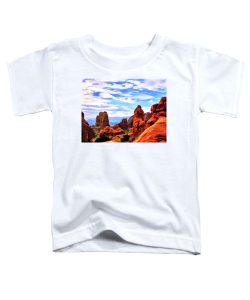 Land Of Moab - Watercolor Toddler T-Shirt