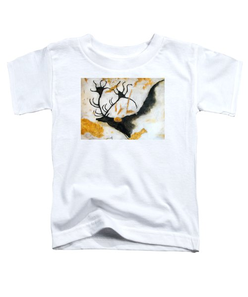 Lascaux Megaceros Deer 2 Toddler T-Shirt