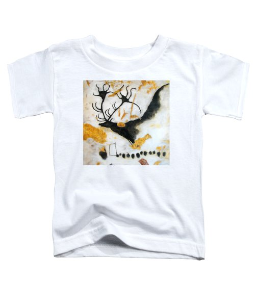 Lascaux Megaceros Deer Toddler T-Shirt