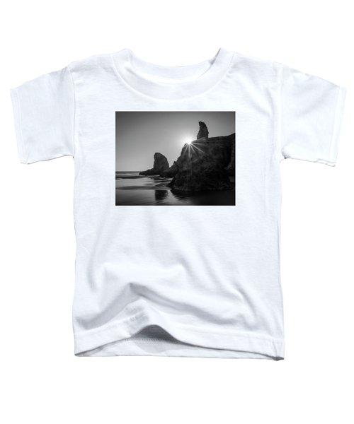 Last Light On The Coast Toddler T-Shirt