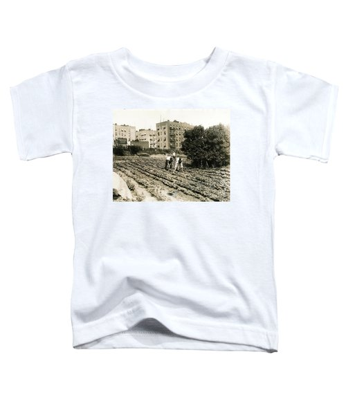 Last Working Farm In Manhattan Toddler T-Shirt by Cole Thompson