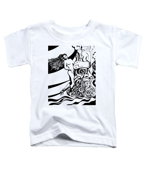 Lava Flow Toddler T-Shirt