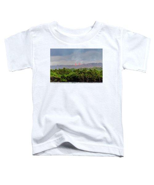 Lava Fountain Toddler T-Shirt