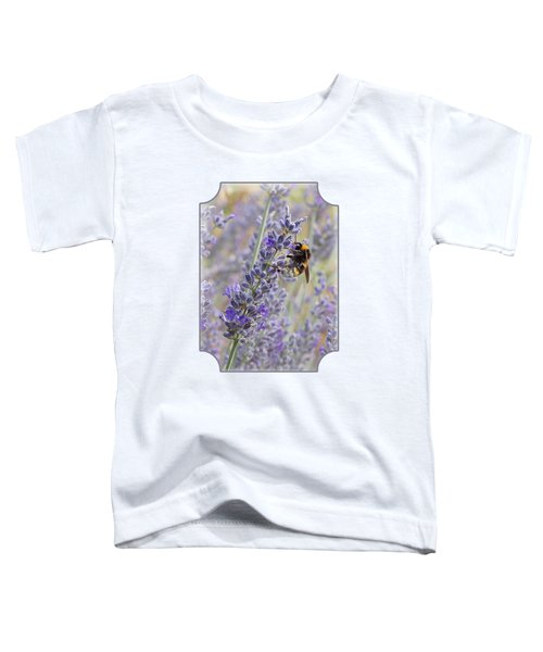 Lavender Bee Toddler T-Shirt