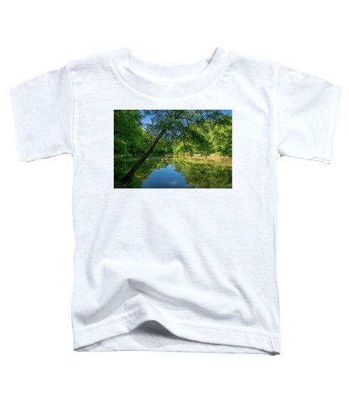 Lazy Summer Day On The River Toddler T-Shirt