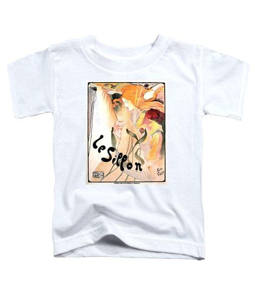 Le Sillon - The Path - Vintage Art Nouveau Poster Toddler T-Shirt