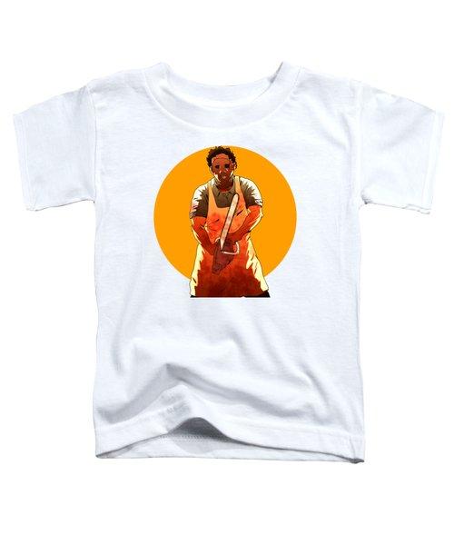 Leatherface Toddler T-Shirt