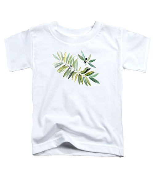 Leaves And Berries Toddler T-Shirt