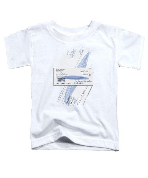 Lebowski's Check Toddler T-Shirt by Filippo B