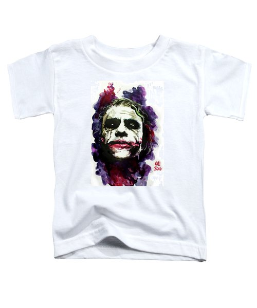 Ledgerjoker Toddler T-Shirt by Ken Meyer jr