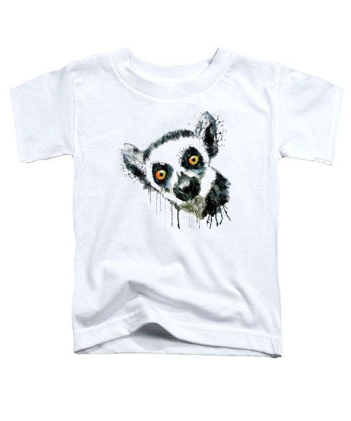 Lemur Head  Toddler T-Shirt