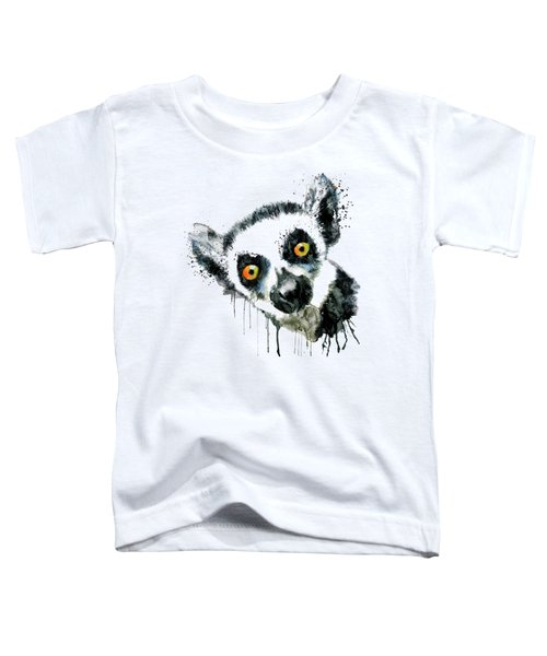 Lemur Head  Toddler T-Shirt