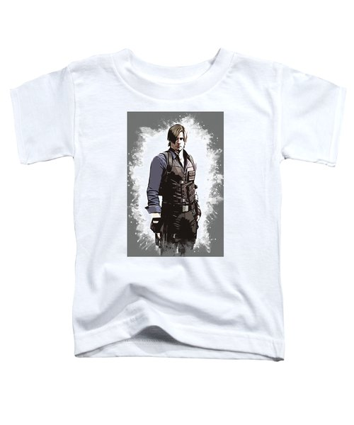 Leon S. Kennedy Toddler T-Shirt