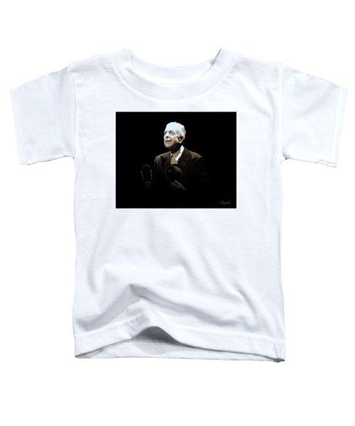 Portrait Of Leonard Cohen Toddler T-Shirt