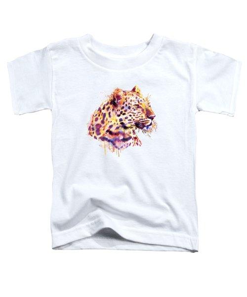 Leopard Head Toddler T-Shirt