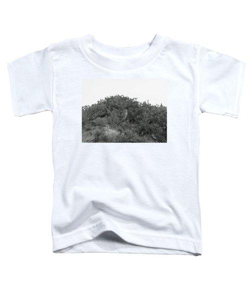 Lesser Horned Owl Toddler T-Shirt by Sandy Taylor