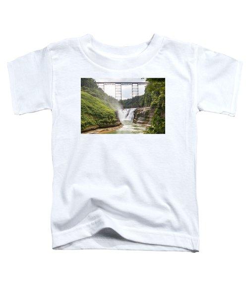 Letchworth Upper Falls Toddler T-Shirt