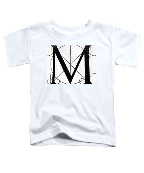 Letter M Toddler T-Shirt