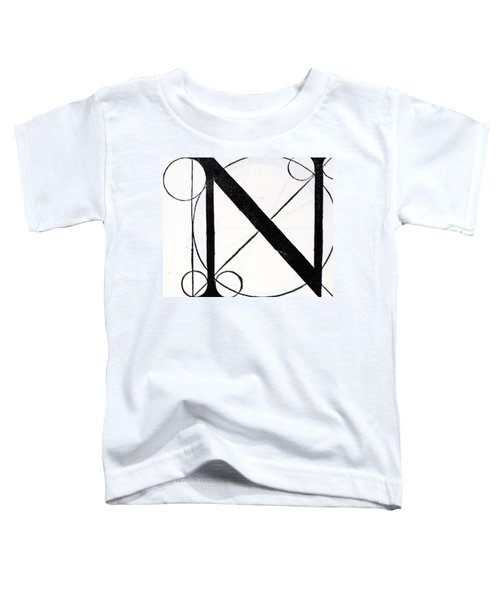 Letter N Toddler T-Shirt