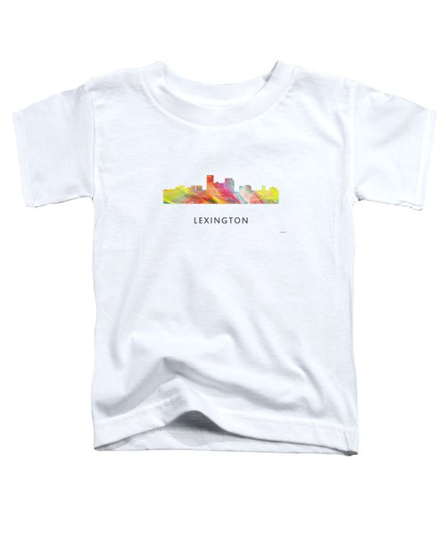 Lexington Kentucky Skyline Toddler T-Shirt