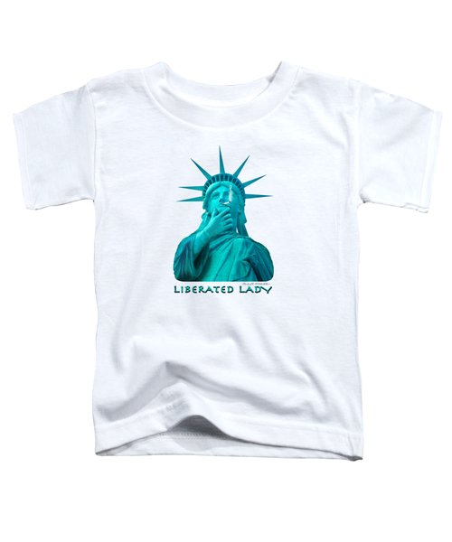 Liberated Lady 3 Toddler T-Shirt by Mike McGlothlen