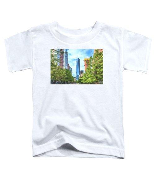 Liberty Tower Toddler T-Shirt
