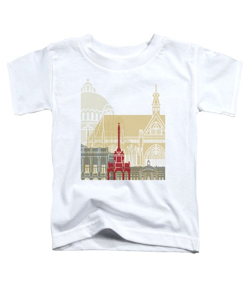 Liege Skyline Poster Toddler T-Shirt