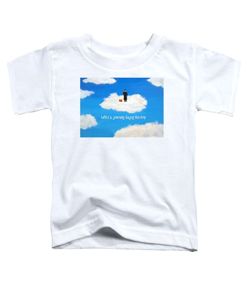 Life's A Journey Greeting Card Toddler T-Shirt
