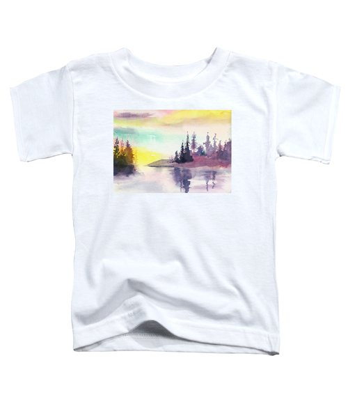 Light N River Toddler T-Shirt