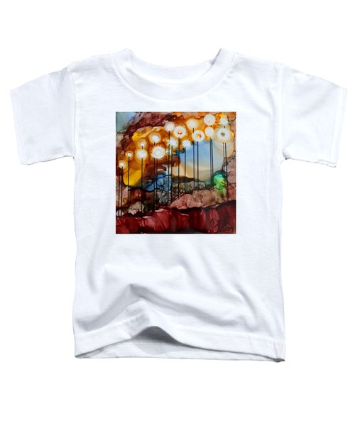 Toddler T-Shirt featuring the painting Light The Way by Joanne Smoley