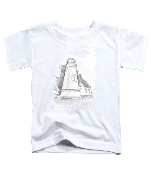 Lighthouse In Oregon Toddler T-Shirt