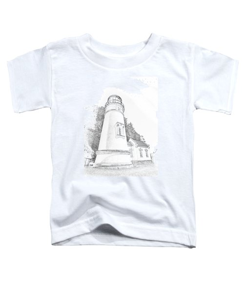 Lighthouse In Oregon Toddler T-Shirt