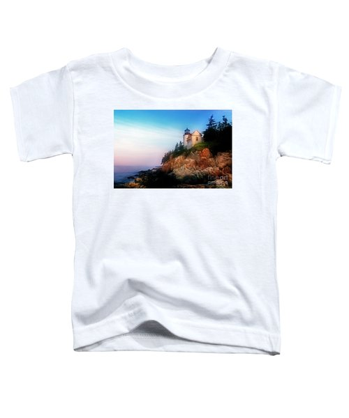 Lighthouse Sunrise Toddler T-Shirt