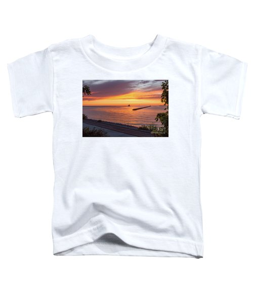 Lighthouse Sunset Toddler T-Shirt
