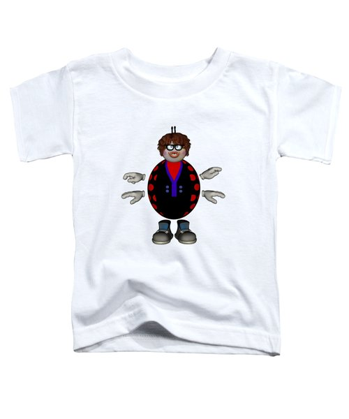 Lily The Ladybug Toddler T-Shirt by Steve Kelly